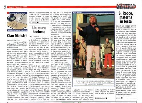 Articolo Giornale di Palazzolo