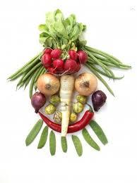 faccia vegetale